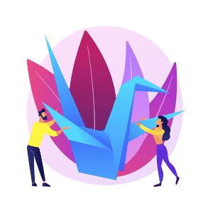 Tik Tok origami