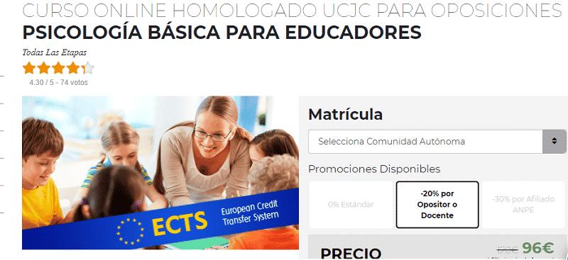 Psicología básica para educadores