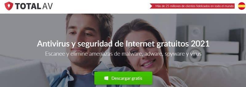 TotalAV antivirus gratuitos