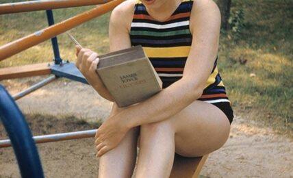 Marilyn Monroe leyendo El Ulises de Joyce