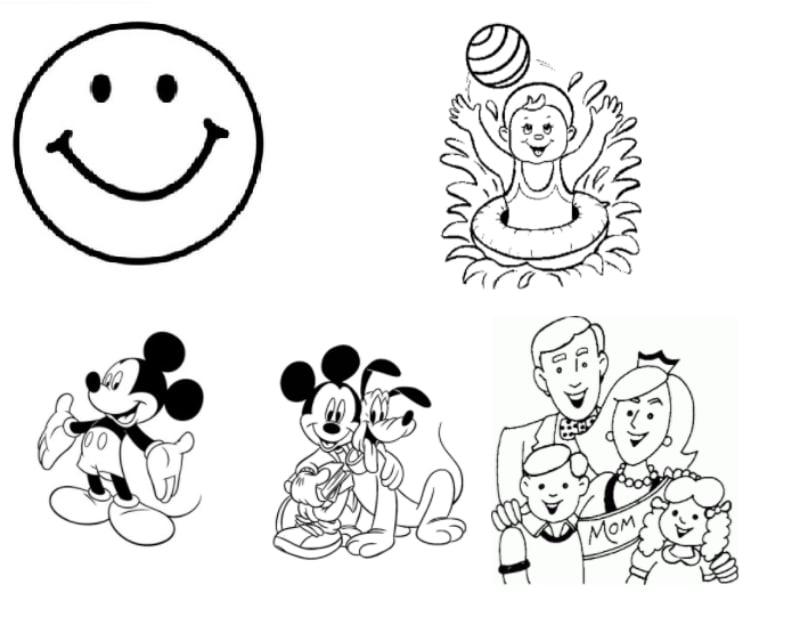 Dibujos felices