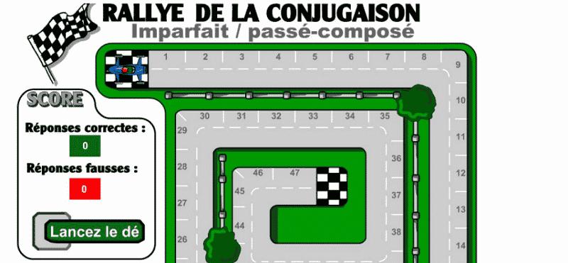 Rally de la conjugaison verbos en pasado en francés
