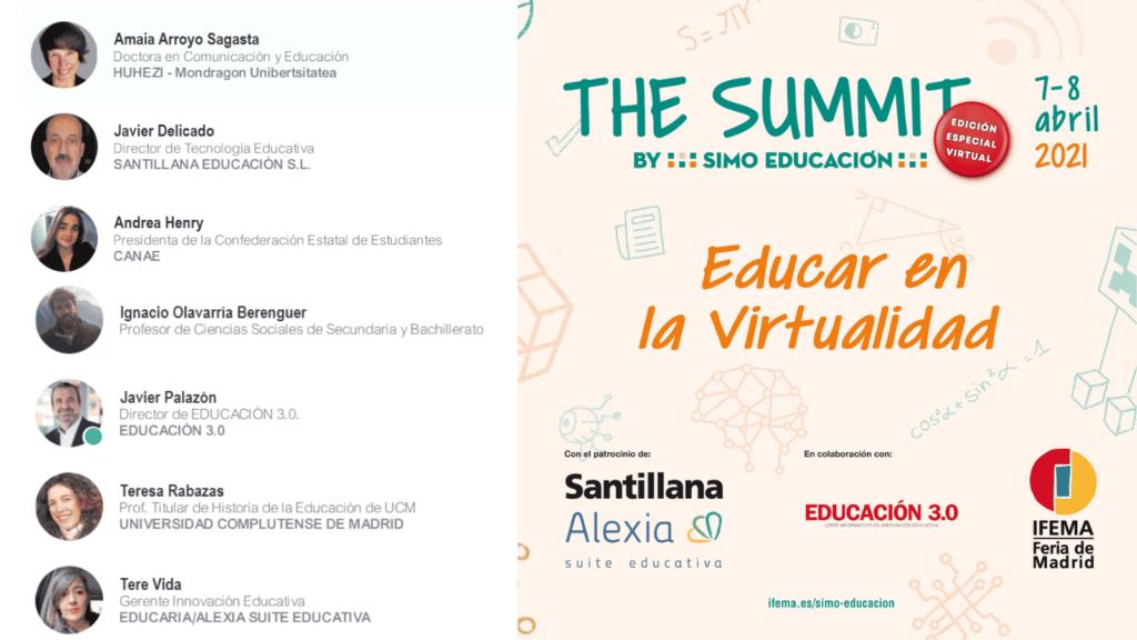 educación tras la pandemia SUMMIT SIMO EDUCACIÓN