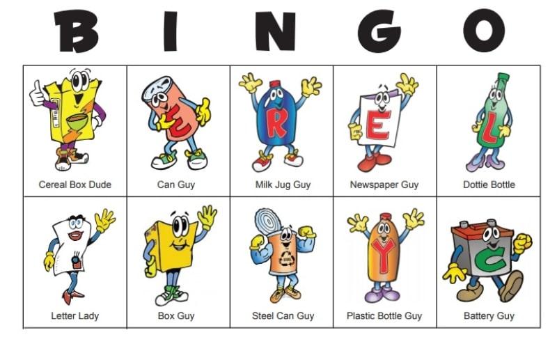 Bingo del reciclaje