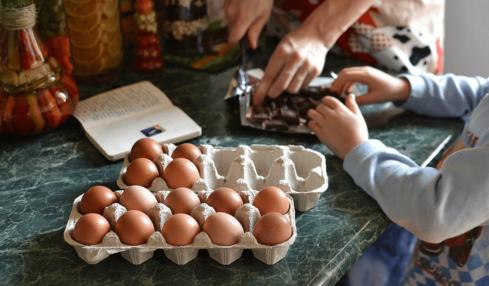 cuentas de tik tok para cocinar con niños