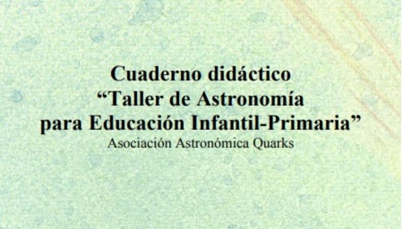 Cuaderno astronomía