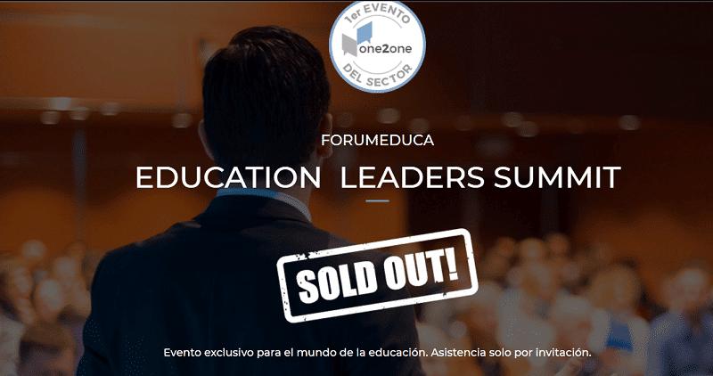 Education Learders Summit Eventos online de mayo