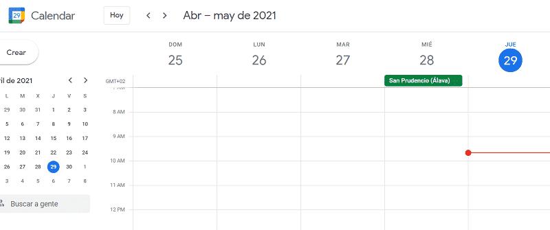 Google Calendar aplicaciones educativas de Google