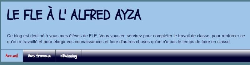 Le Fle à L'Alfred Ayza