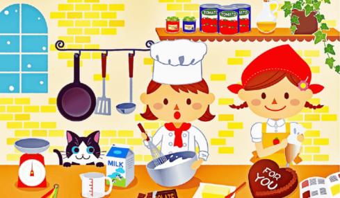 recetas de cocina niños
