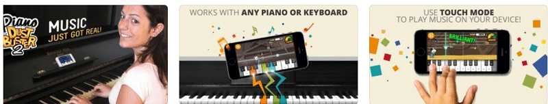 Piano Aplicaciones para aprender a tocar instrumentos