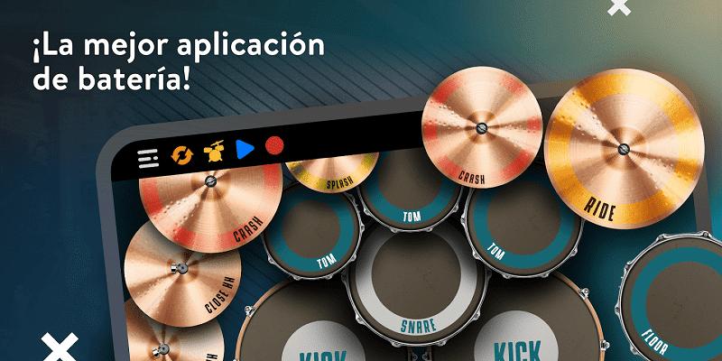 Real drum Aplicaciones para aprender a tocar instrumentos