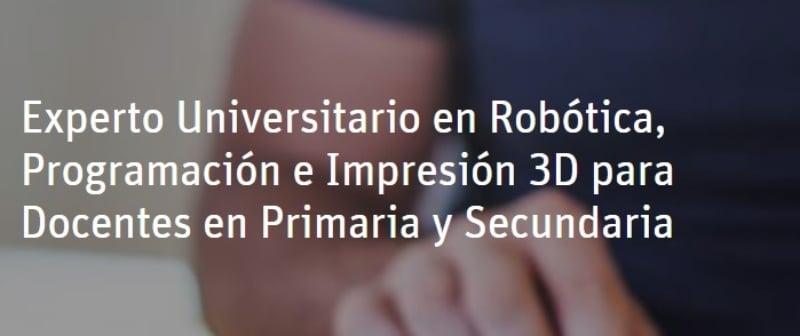Cursos robótica online