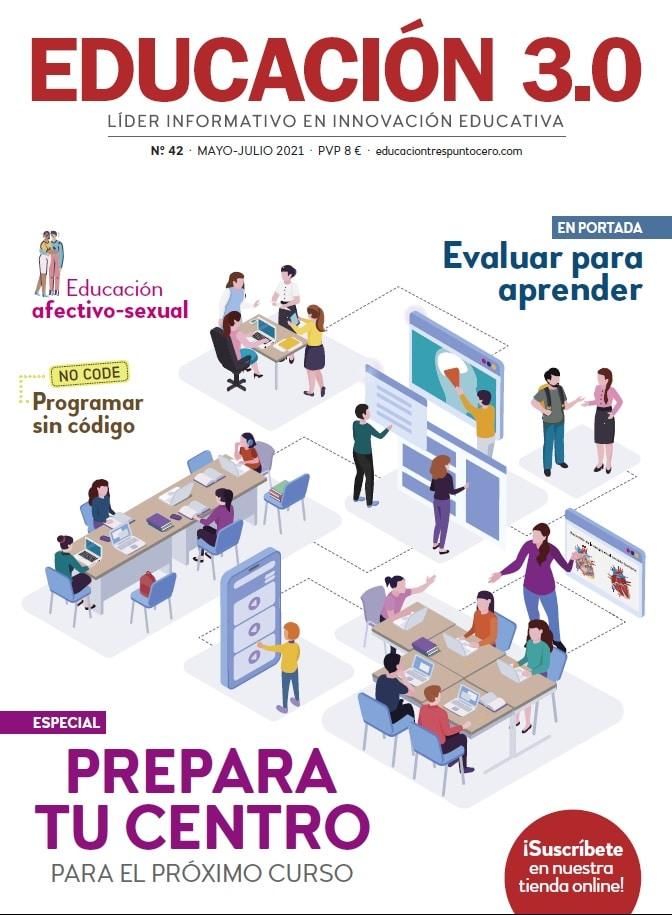 Portada 42 revista EDUCACIÓN 3.0