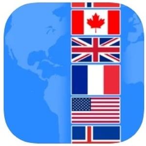 aprender las banderas del mundo