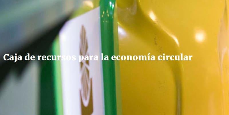 Caja de recursos para la economía circular