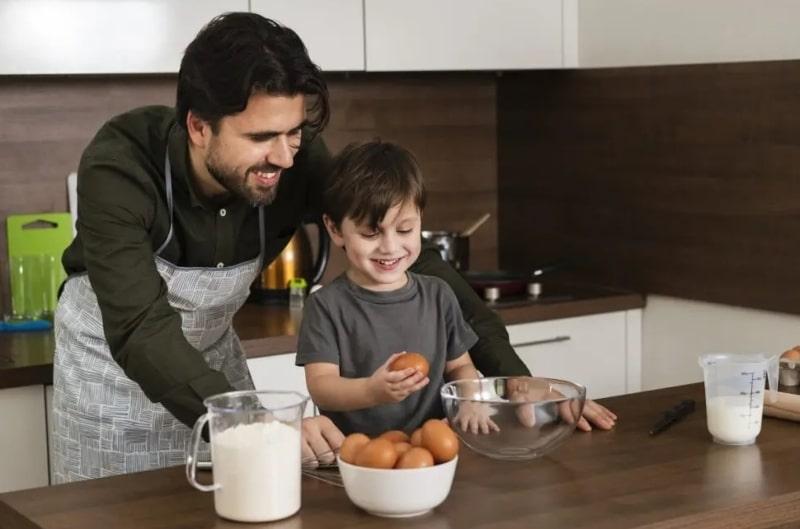 Cocinar día de las familias