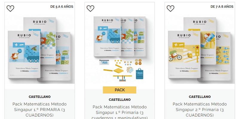 Cuadernos Rubio Singapur