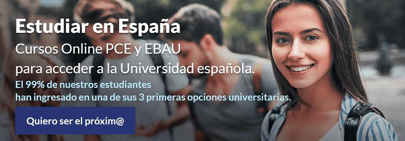 Estudia en España