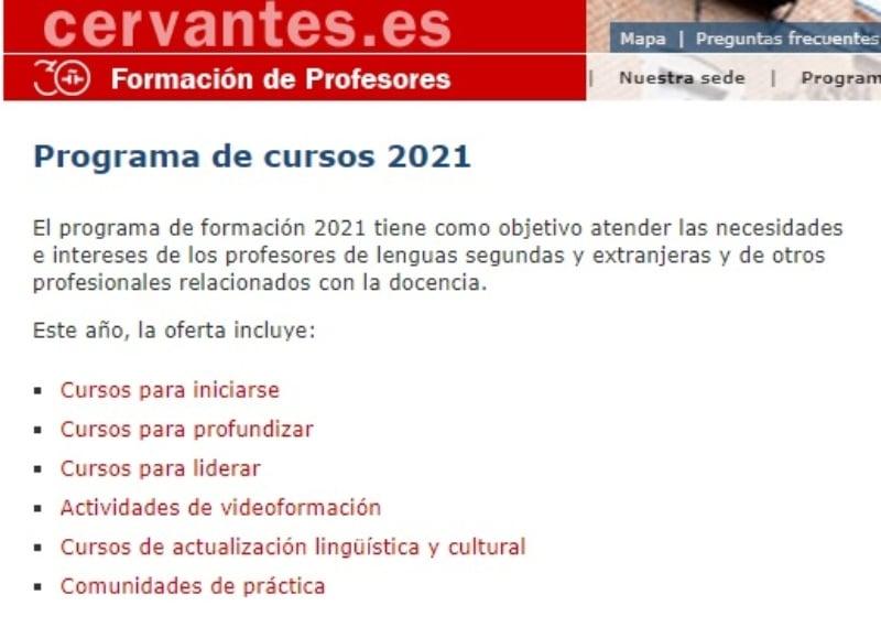 Instituto Cervantes español para extranjeros