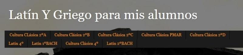 Diario de clase latín y griego