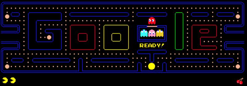 Pacman juegos Doodle