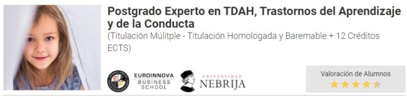 Experto en TDAH
