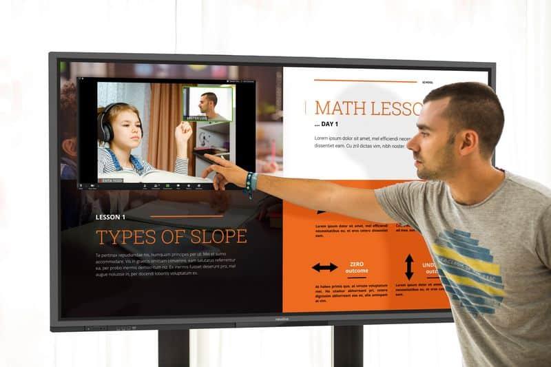 Newline RS+ Recursos digitales interactivos
