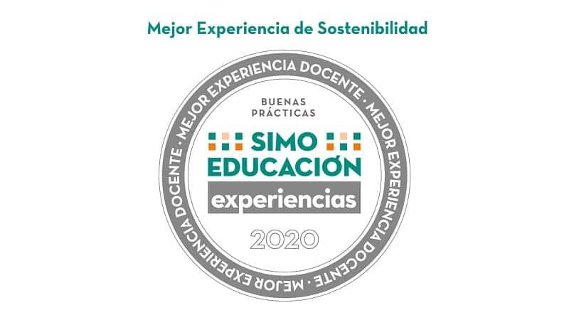 SELLO SIMO 2020 MEJOR EXPERIENCIA DE SOSTENIBILIDAD