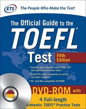 The official guide to TOEFL test