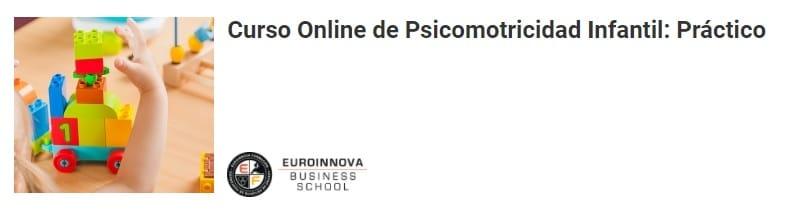 Curso Online Práctico de Psicomotricidad Infantil