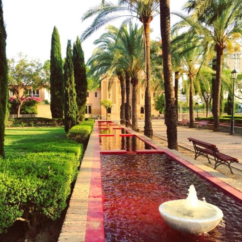 Buhaira jardín