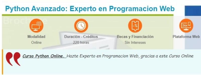 Curso programación web