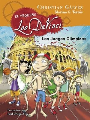 Los Juegos Olímpicos. El pequeño Leo Da Vinci