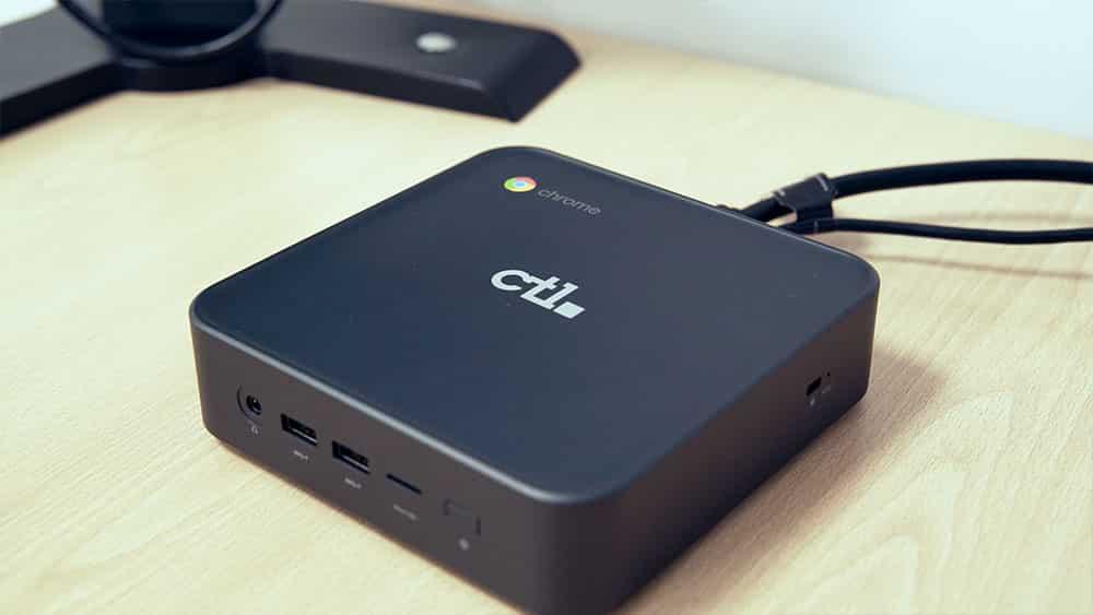 Ordenador chromebook Videoconferencia y monitores interactivos
