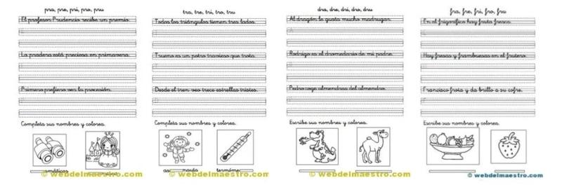 Caligrafía y ortografía