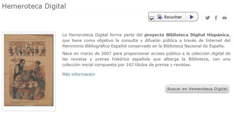 Hemeroteca Nacional de España