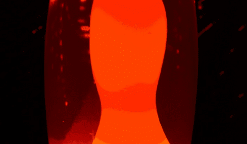 lámpara de lava