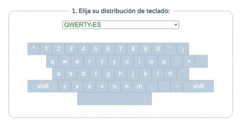 Mecanografía online