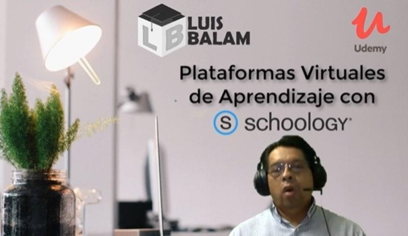Plataformas Virtuales de Aprendizaje con Schoology