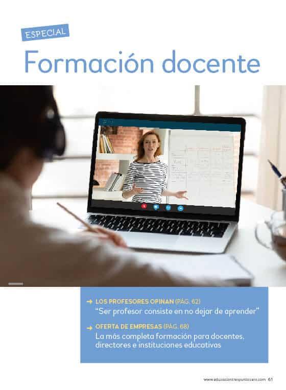 Especial Formación docente 43 revista EDUCACIÓN 3.0