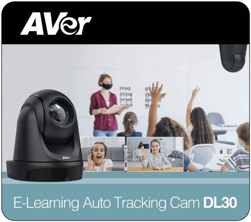 cámara PTZ Streaming AVER DL30