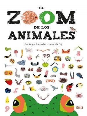 El zoom de los animales libros niños