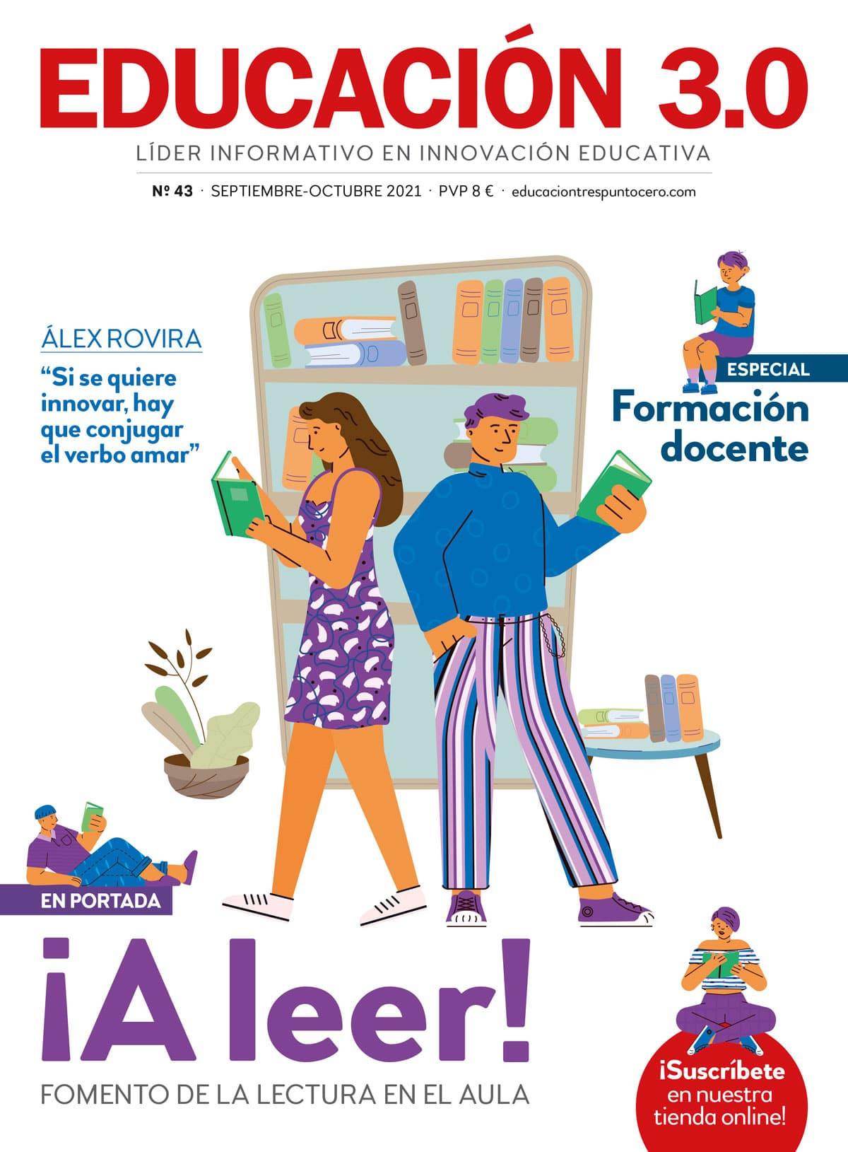 portada 43 de la revista impresa EDUCACIÓN 3.0