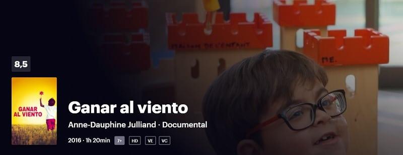 Ganar al viento documentales protagonizados por niños