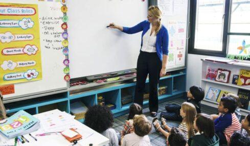 decorar el aula de infantil