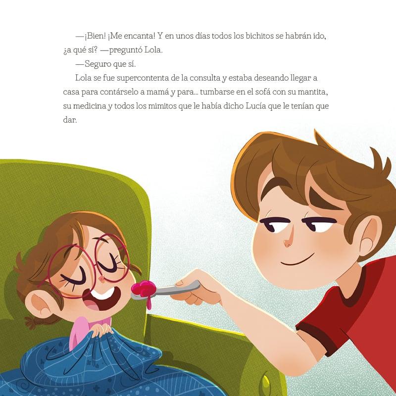 Lucía, mi pediatra cuentos