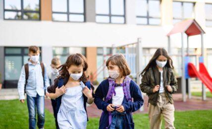 Fin de las mascarillas en los patios de los colegios